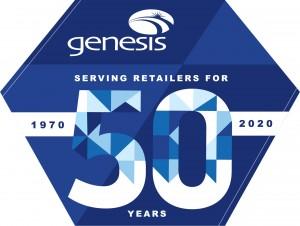 Genesis anniversary logo
